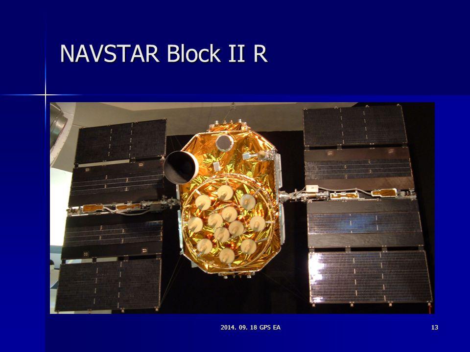 2014. 09. 18 GPS EA13 NAVSTAR Block II R