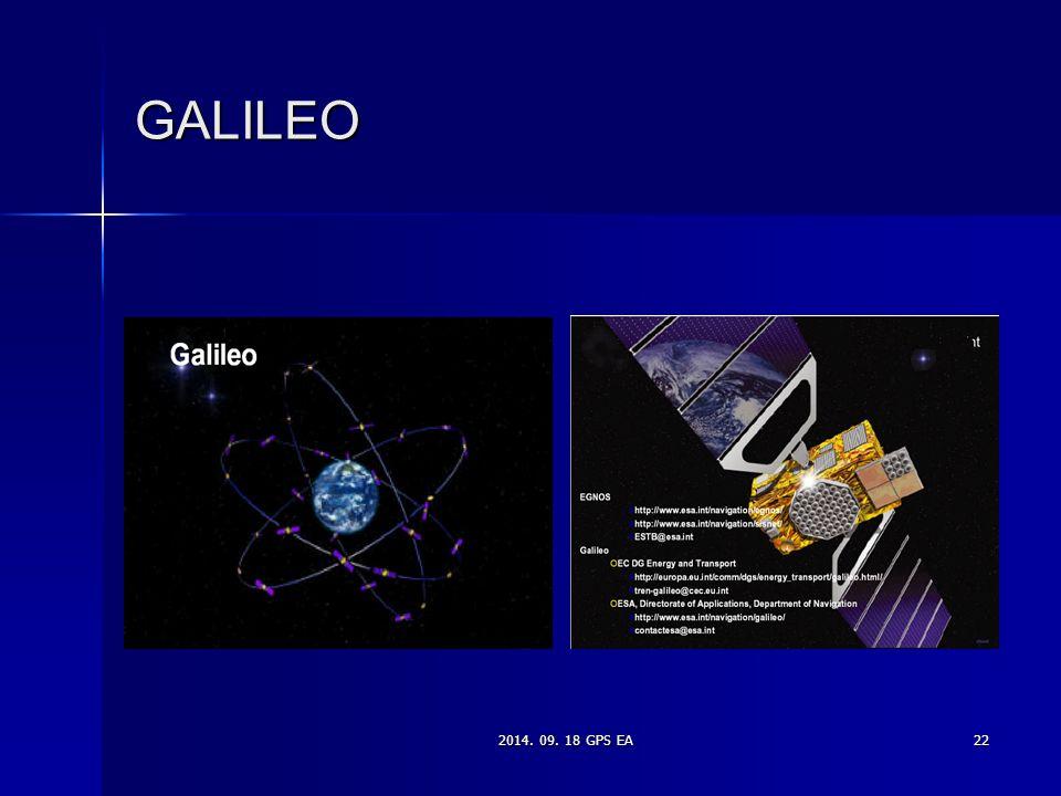 2014. 09. 18 GPS EA22 GALILEO