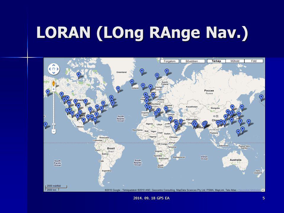 5 LORAN (LOng RAnge Nav.)