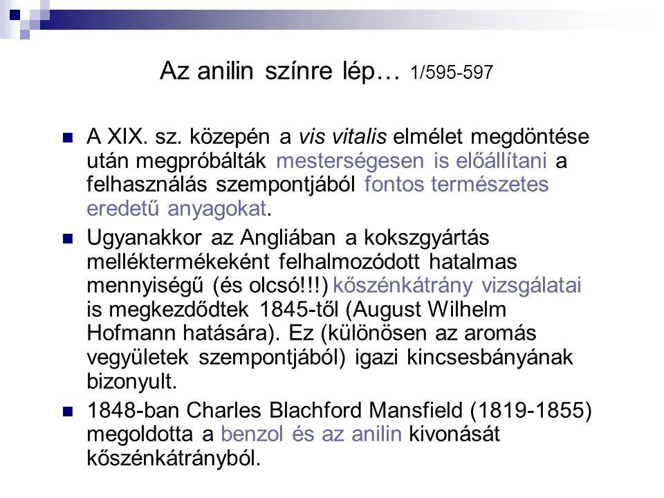 A gumi 1/622-625 1860 Charles Greville Williams: kaucsuk száraz desztillációja → IZOPRÉN.