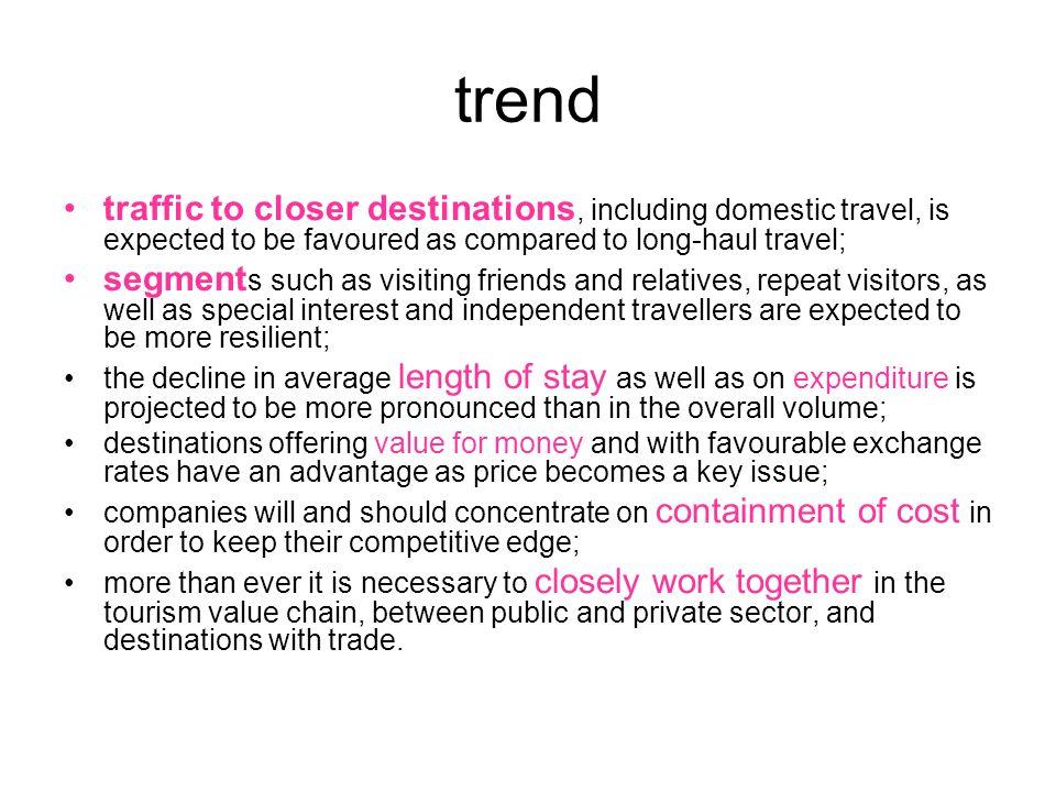 A turizmus 1.Belföldi (domestic) 2.Nemzetközi(international) Kiutazó ( outbound) Beutazó(inbound) Azon személyek tevékenysége, akik szokásos környezetükön kívüli helyre utaznak és 1 évnél nem hosszabb ideig tartózkodnak ott pihenés, üzlet vagy más céljából (leisure, business, VFR)