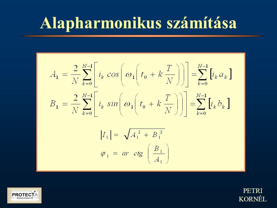 PETRI KORNÉL Alapharmonikus számítása