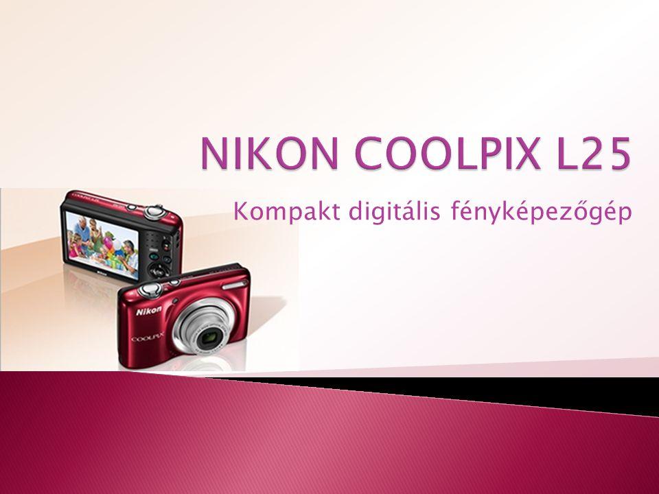 Vonzó, masszív és könnyen kezelhető, a COOLPIX L25 ért a képekhez – így Önnek nem kell.