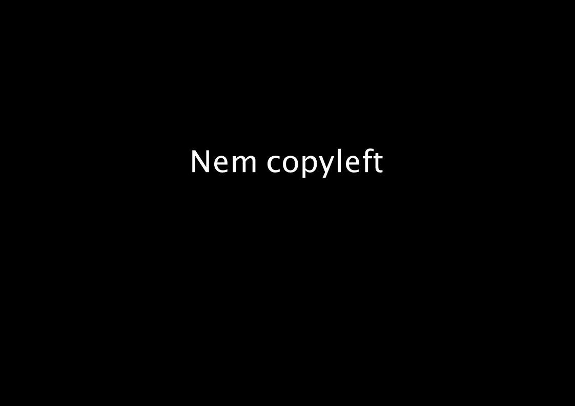 Nem copyleft