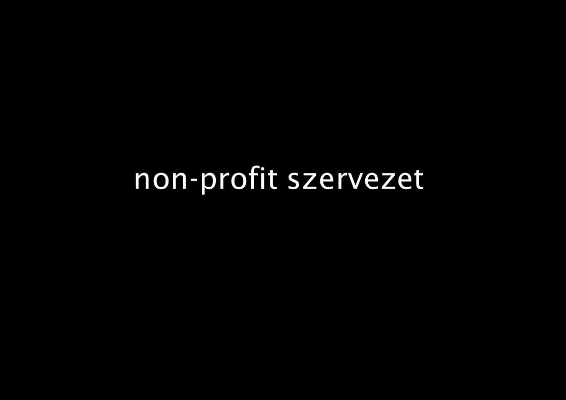 non-profit szervezet