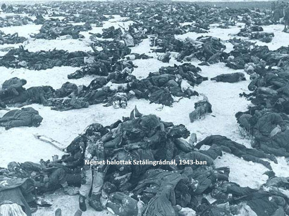 Német halottak Sztálingrádnál, 1943-ban