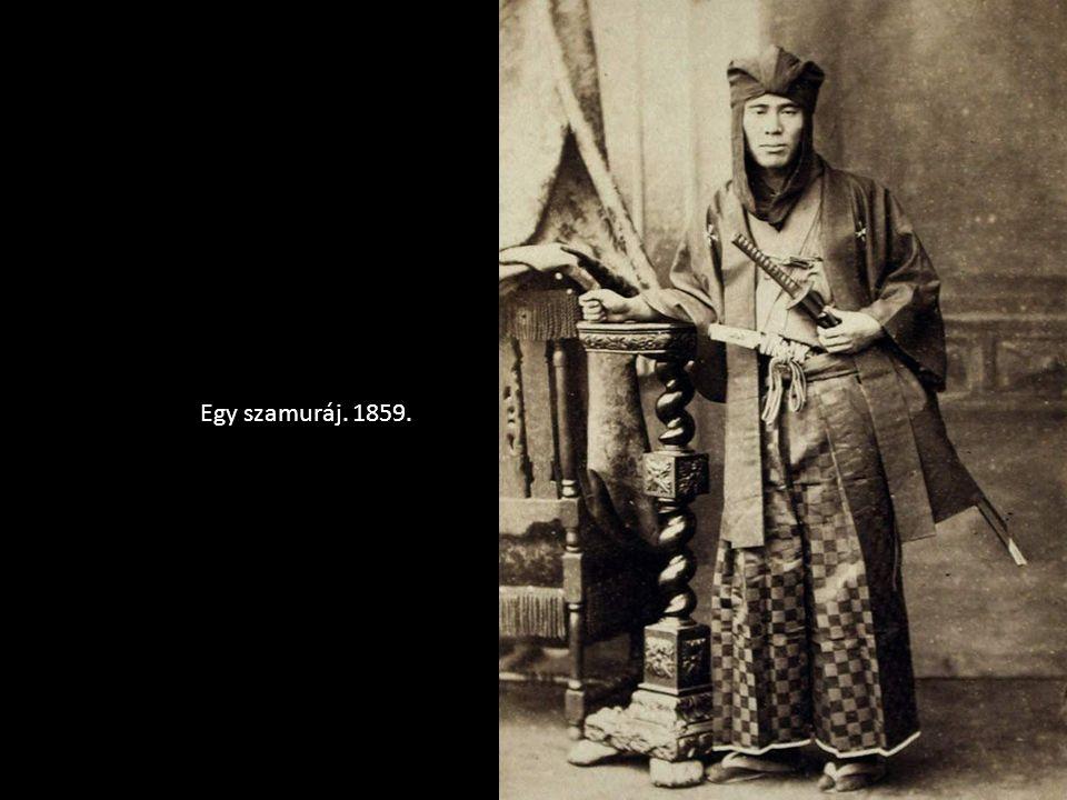 Egy szamuráj. 1859.