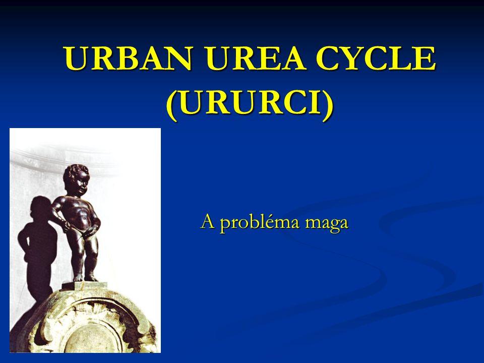 URBAN UREA CYCLE (URURCI) A probléma maga A probléma maga