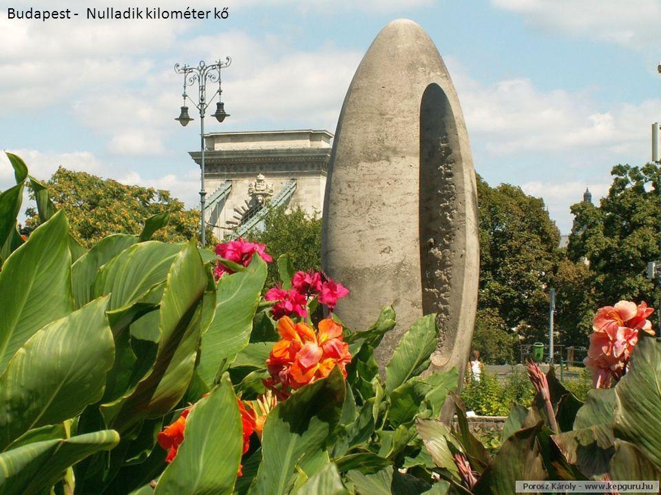 Budapest - Nulladik kilométer kő