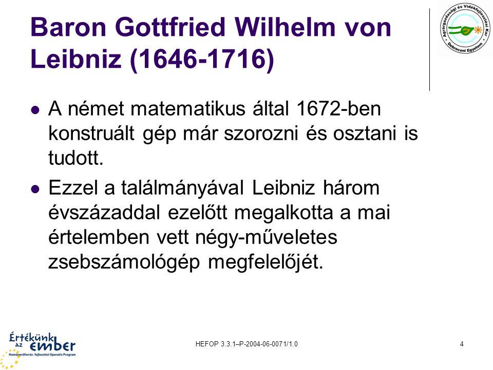 HEFOP 3.3.1–P-2004-06-0071/1.025 Az IBM7094 II. generációs gép