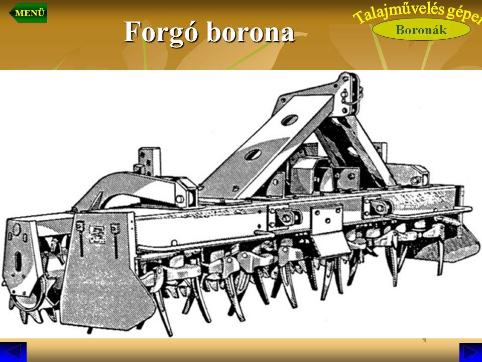 Forgó borona Boronák MENÜ