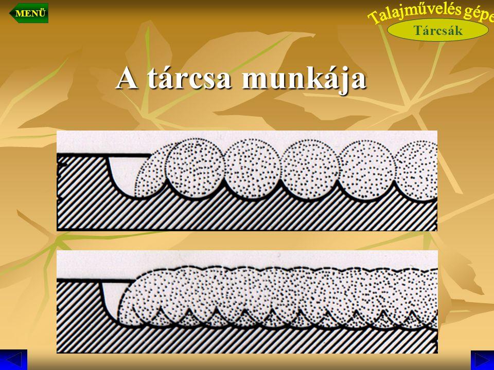 Munkavégző szerkezeti részek  Talajlazító művelő szerszámok (rugós szárú talajlazító szerszámok vagy, fogasborona) Feladatuk, a talaj lazítása, porhanyítása.