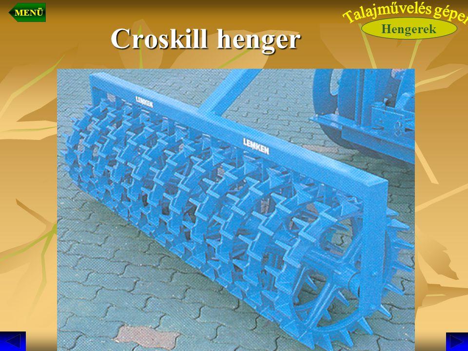 Croskill henger Hengerek MENÜ