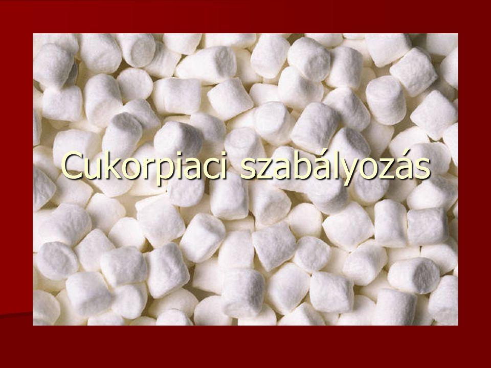 Cukorpiaci szabályozás