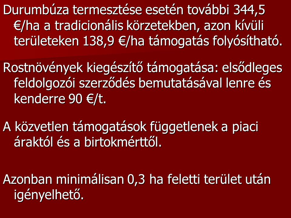 """""""Helyes Mezőgazdasági és Környezeti Állapot 1.Talajerózió elleni védelem 2."""