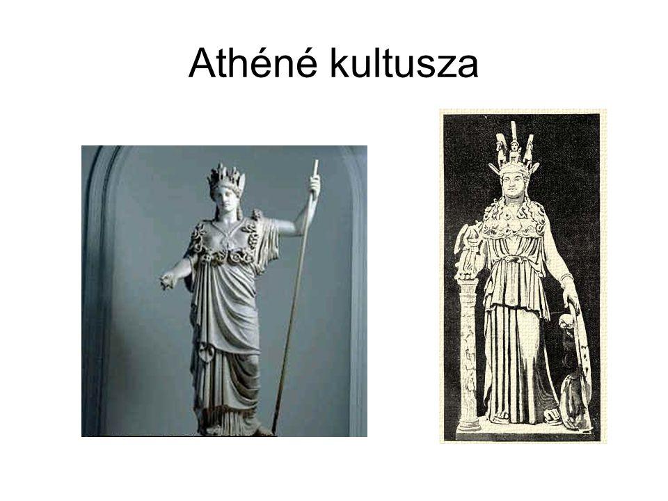Athéné kultusza