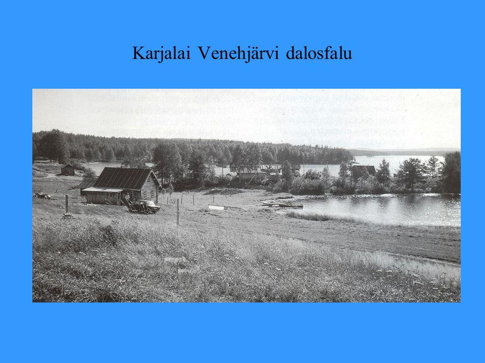 Karjalai Venehjärvi dalosfalu