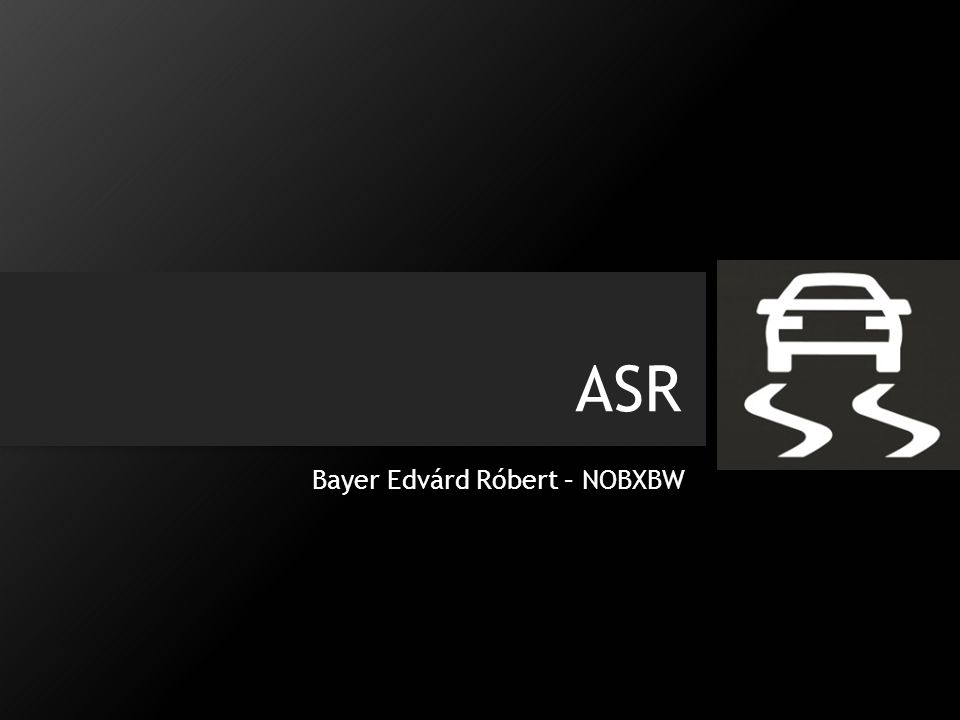ASR Bayer Edvárd Róbert – NOBXBW