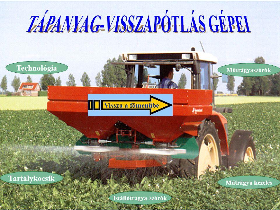 TRÁGYA TÍPUSAI 1.Szervestrágyák:  istállótrágya,  hígtrágya és trágyalé,  komposzt,  zöldtrágya.