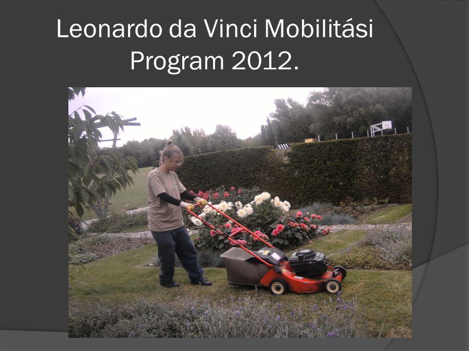 Leonardo da Vinci Mobilitási Program 2012.