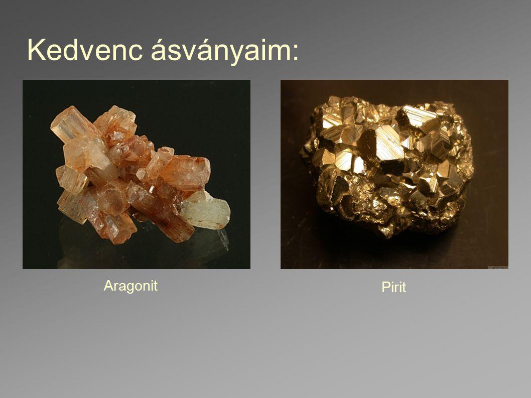 Kedvenc ásványaim: Aragonit Pirit