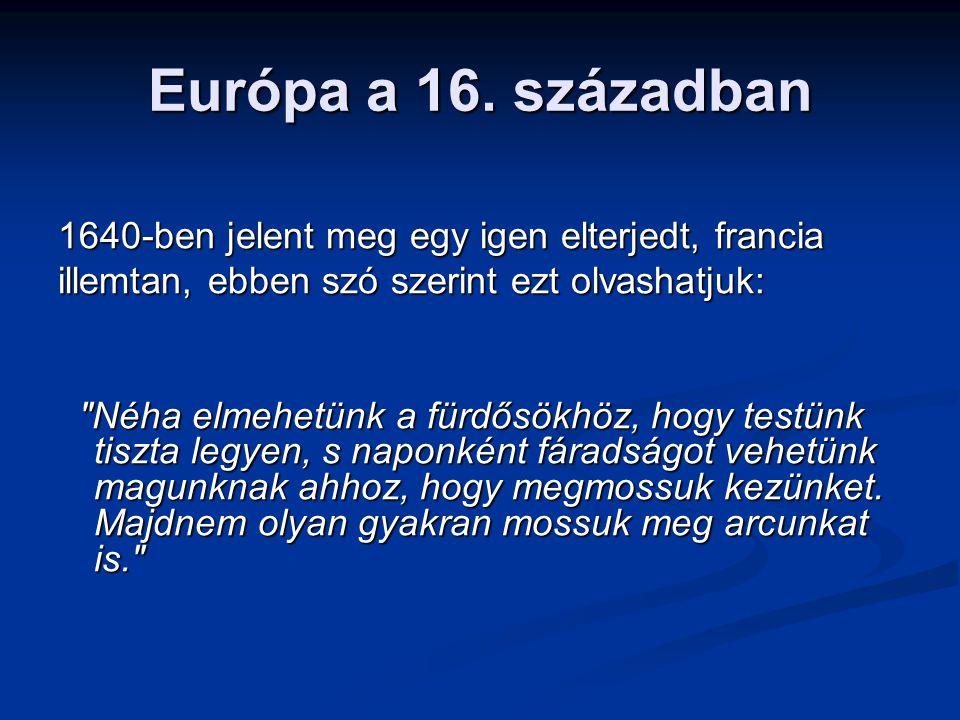 Európa a 16.