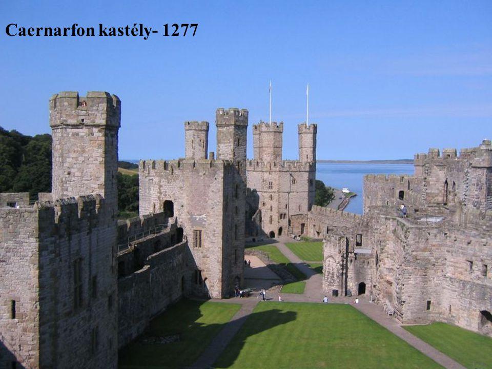 Caernarfon kastély- 1277