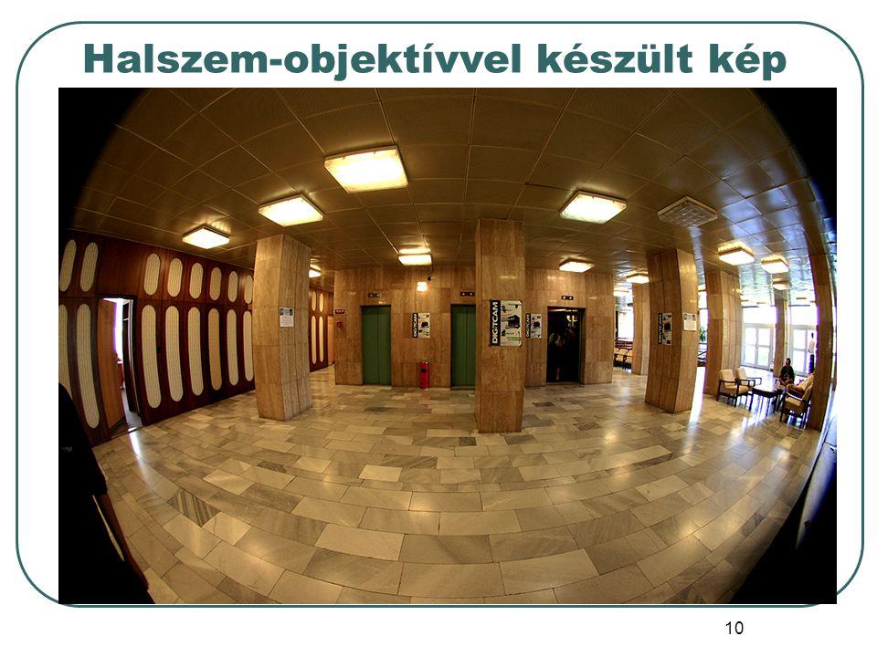 10 Halszem-objektívvel készült kép