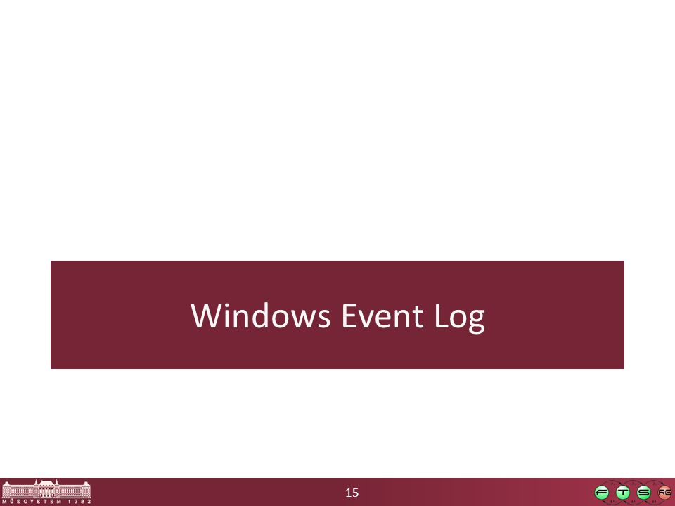 15 Windows Event Log
