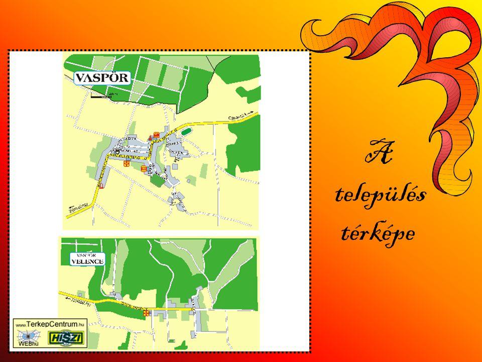 A település térképe