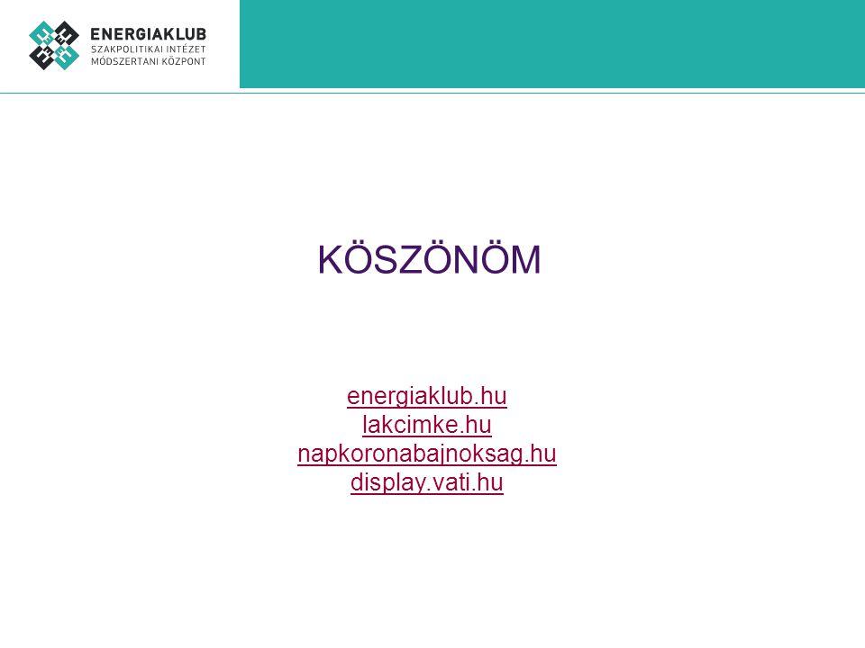 KÖSZÖNÖM energiaklub.hu lakcimke.hu napkoronabajnoksag.hu display.vati.hu