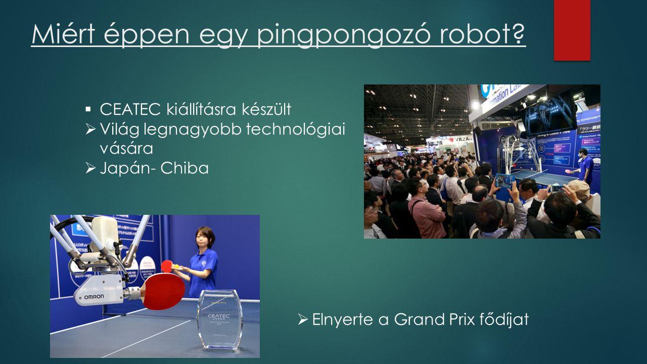 Miért éppen egy pingpongozó robot.