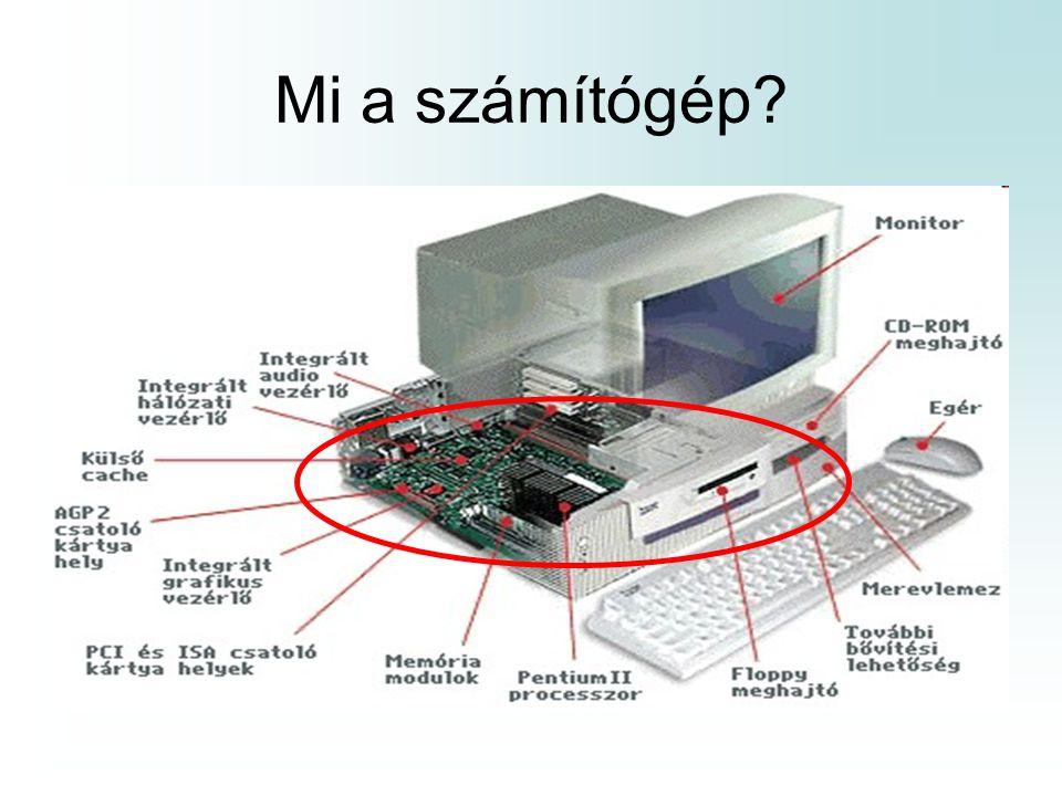 Mi a számítógép?