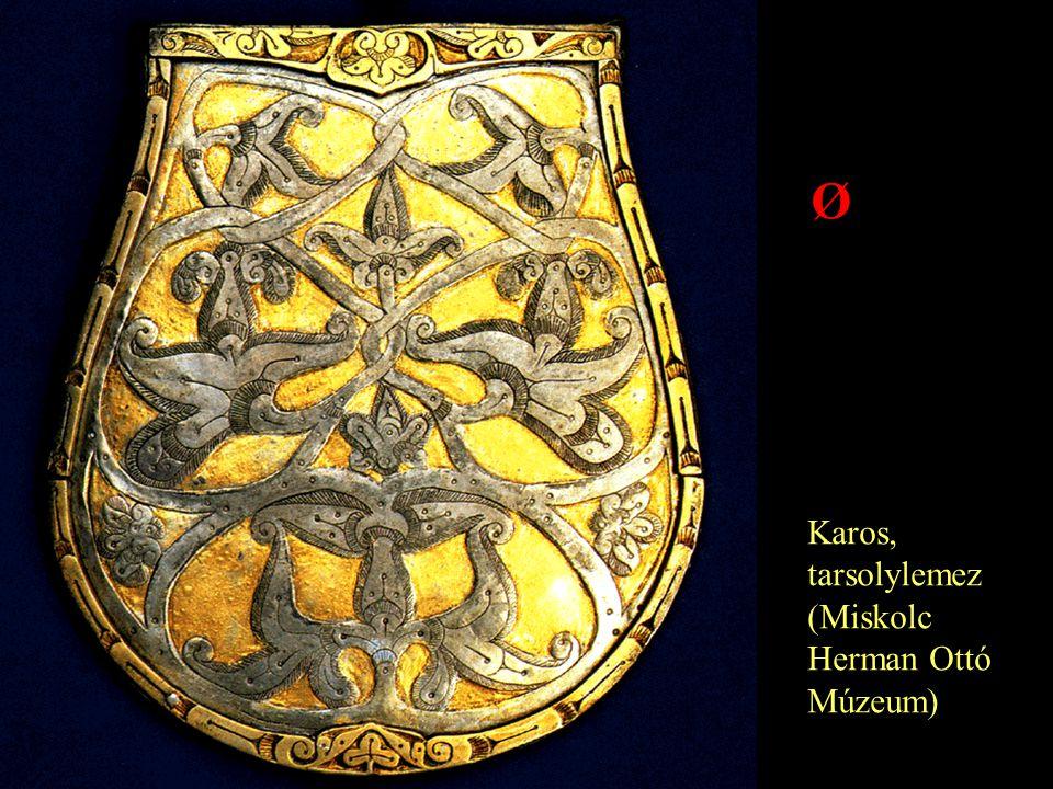 Karos, tarsolylemez (Miskolc Herman Ottó Múzeum) Ø