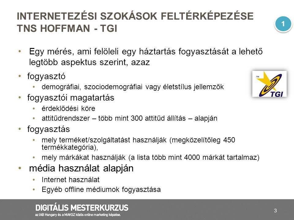 4 TGI, MÓDSZERTAN A TGI minta reprezentatív a 15-75 éves magyar lakosságra nem, kor, régió és a településtípus szerint.