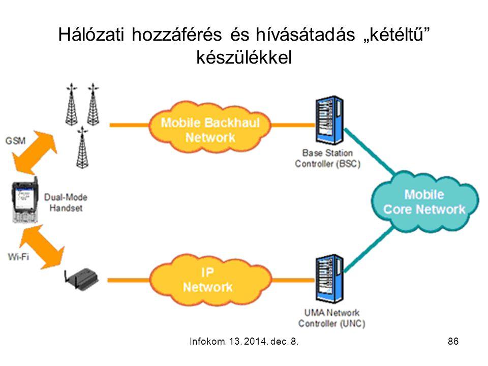 Infokom. 13. 2014. dec. 8.85 A home gateway eszköz, az otthoni hálózat és a hálózatba kapcsolt eszközök legyenek távolról menedzselhetők. Tegye lehető