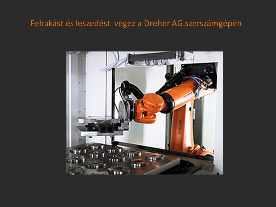 Felrakást és leszedést végez a Dreher AG szerszámgépén