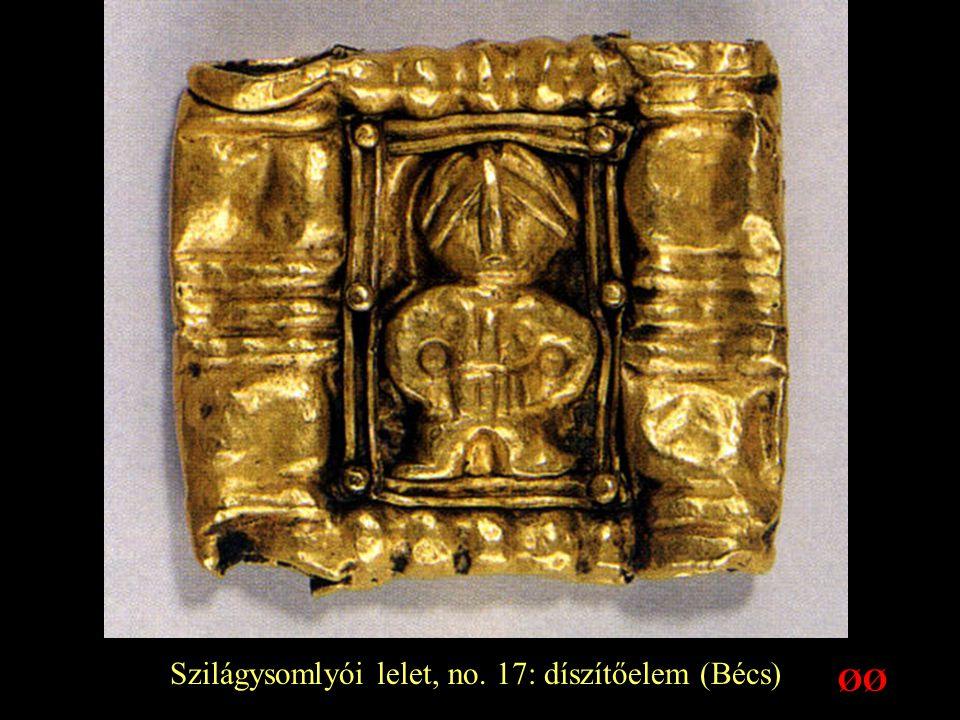 Szilágysomlyói lelet, no. 17: díszítőelem (Bécs) ØØ