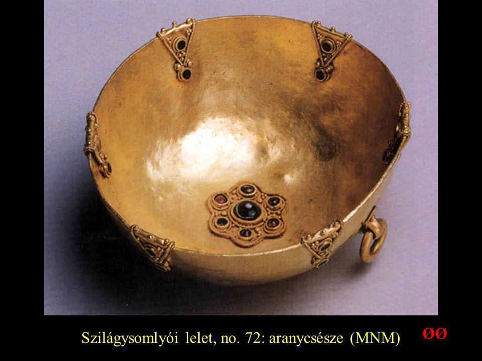 Szilágysomlyói lelet, no. 72: aranycsésze (MNM) ØØ