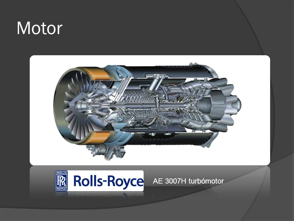 Motor AE 3007H turbómotor