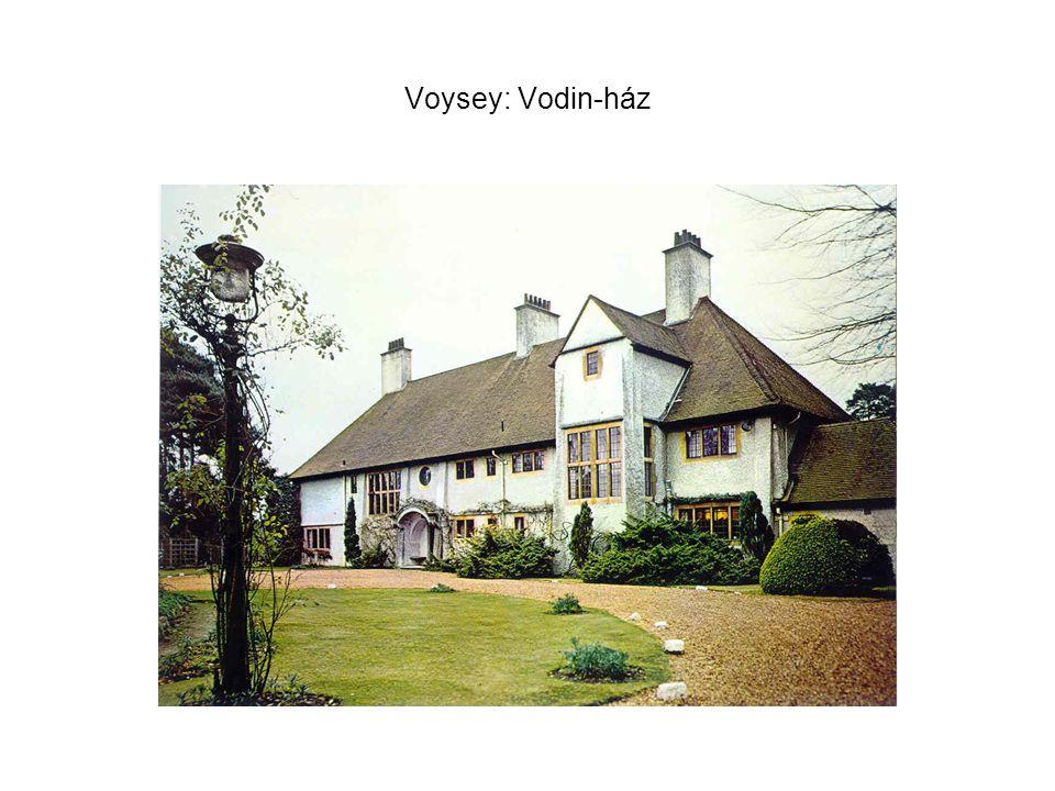 Voysey: Vodin-ház
