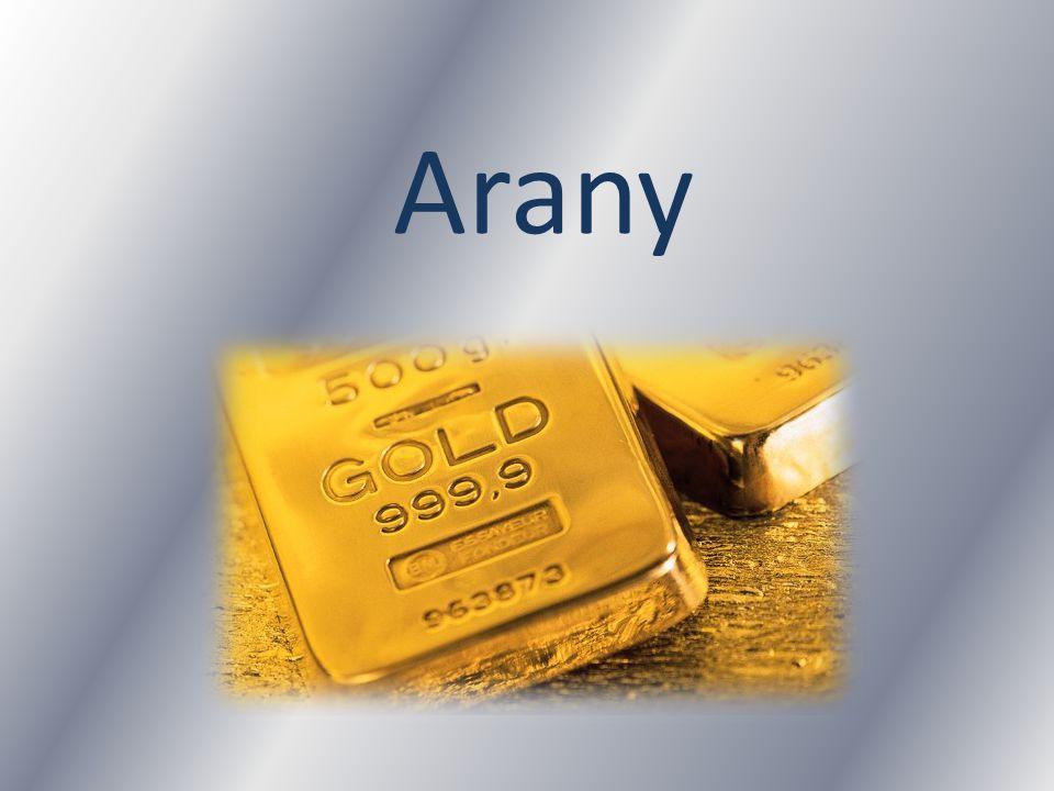 Jellemzői Az arany a természetben elemi állapotban előforduló, a történelem kezdetei óta ismert, jellegzetesen sárga nemesfém, a periódusos rendszer 79.