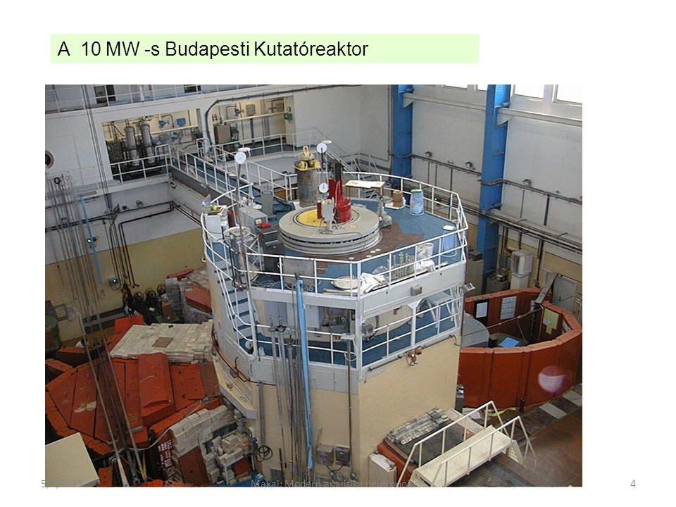 Reaktor zóna Cold plug Tang.