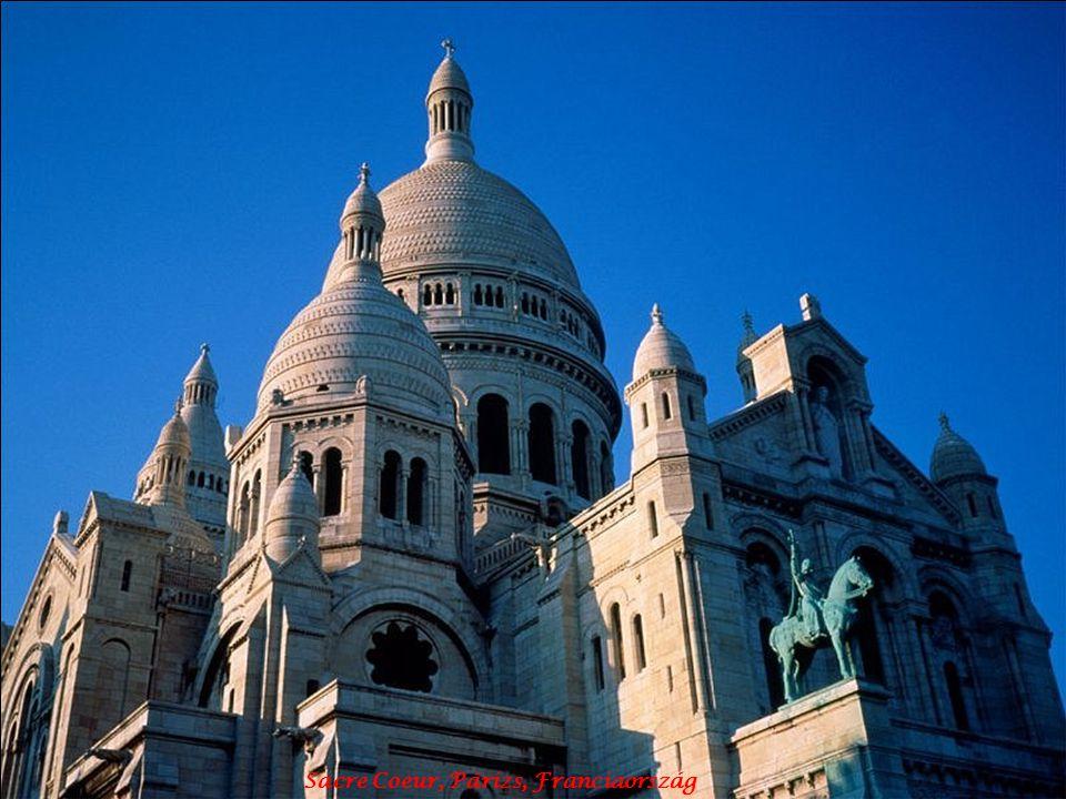 Sacre Coeur, Párizs, Franciaország