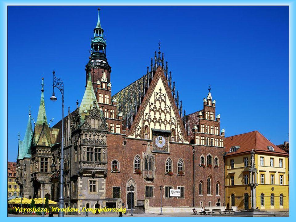 Városháza, Wroclaw, Lengyelország