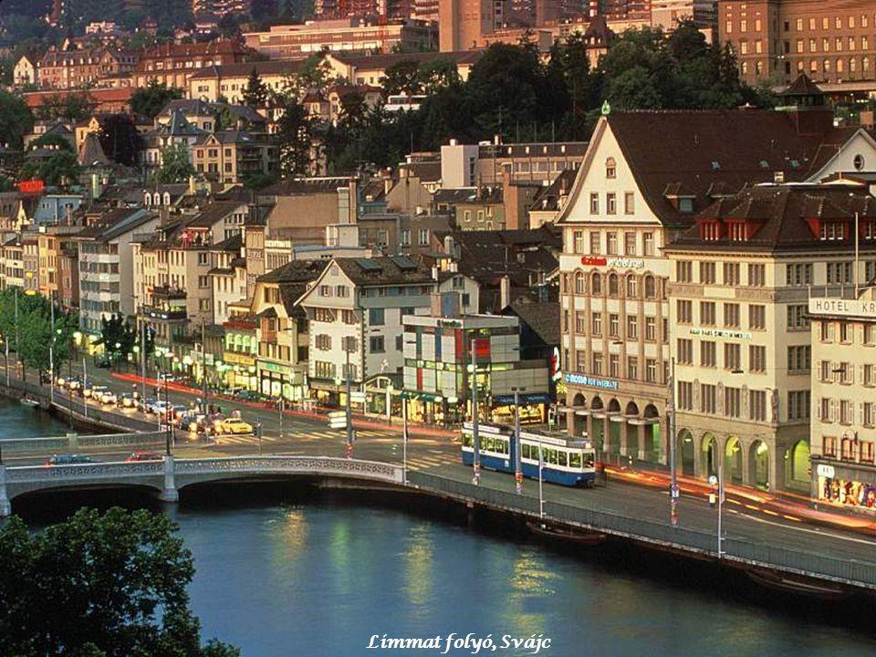 Limmat folyó, Svájc