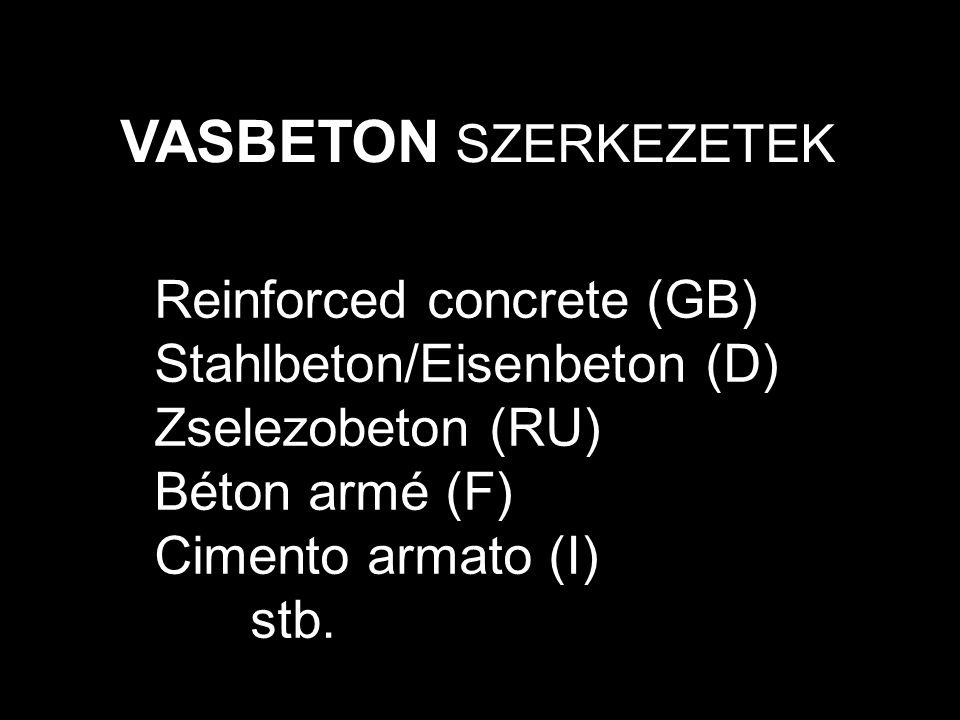A magyar vasbeton szabályzatok története 1903.Első vasbeton szabályzat, Svájc 1909.