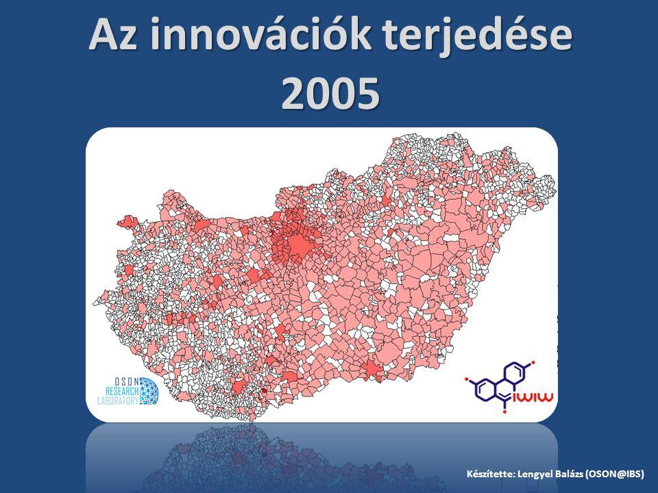 Az innovációk terjedése 2005 Készítette: Lengyel Balázs (OSON@IBS)