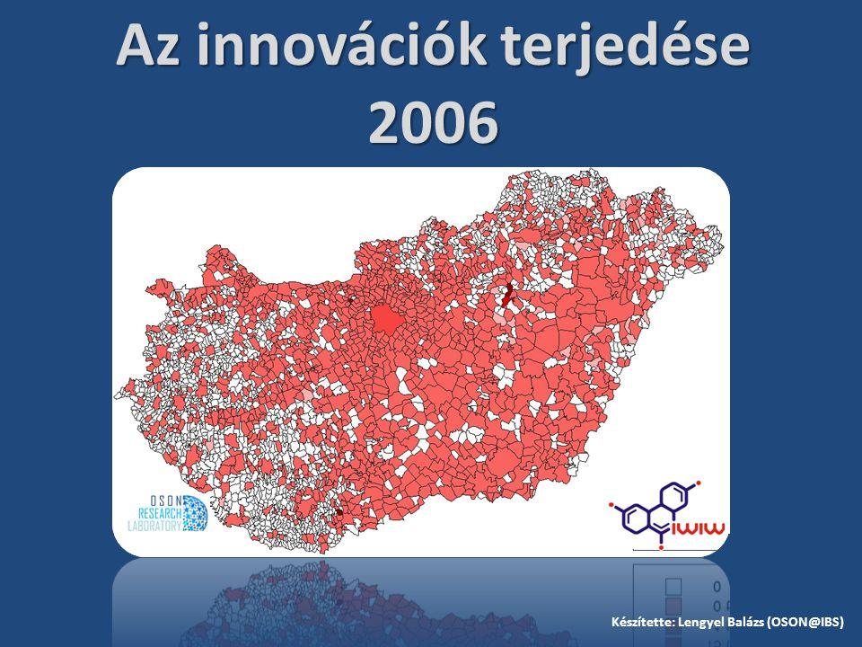 Az innovációk terjedése 2006 Készítette: Lengyel Balázs (OSON@IBS)
