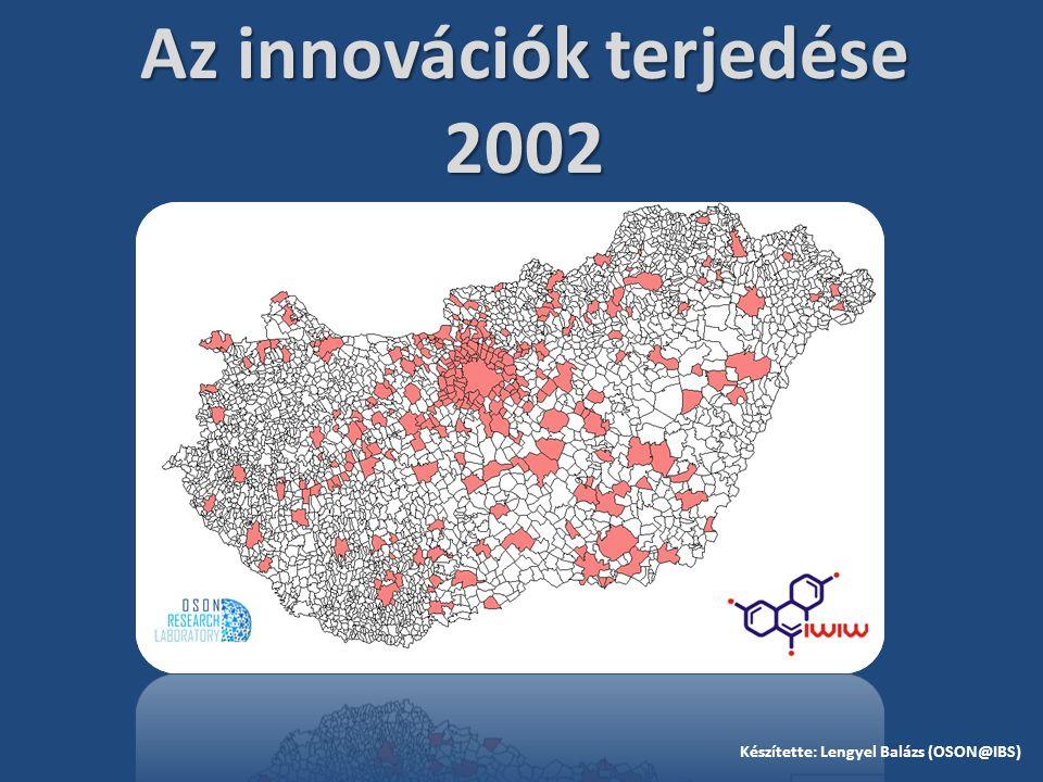 Az innovációk terjedése 2002 Készítette: Lengyel Balázs (OSON@IBS)